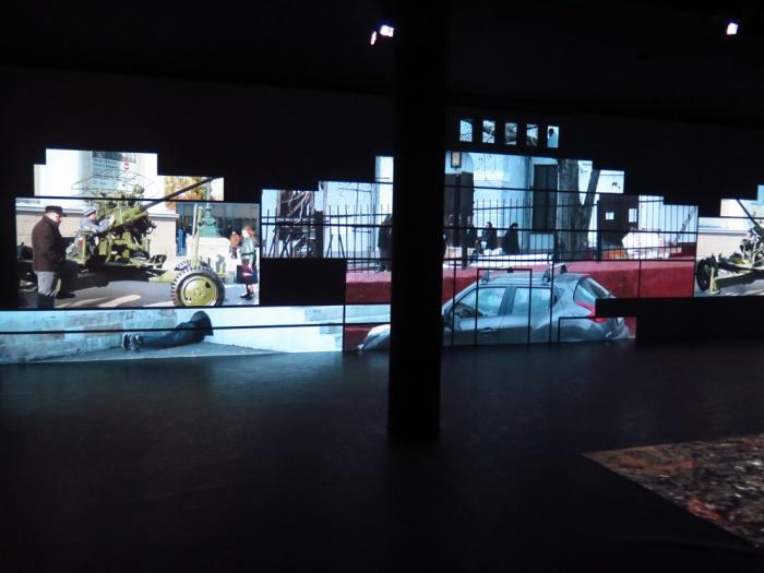 "<p style=""text-align: justify;""><span style=""color: #000000; font-family: calibri; font-size: 12px;"">Irina Nakhova, ""The Green Pavilion"", Russia Pavilion at the Giardini, La Biennale di Venezia, 56th edition, 2015.</p></span>"